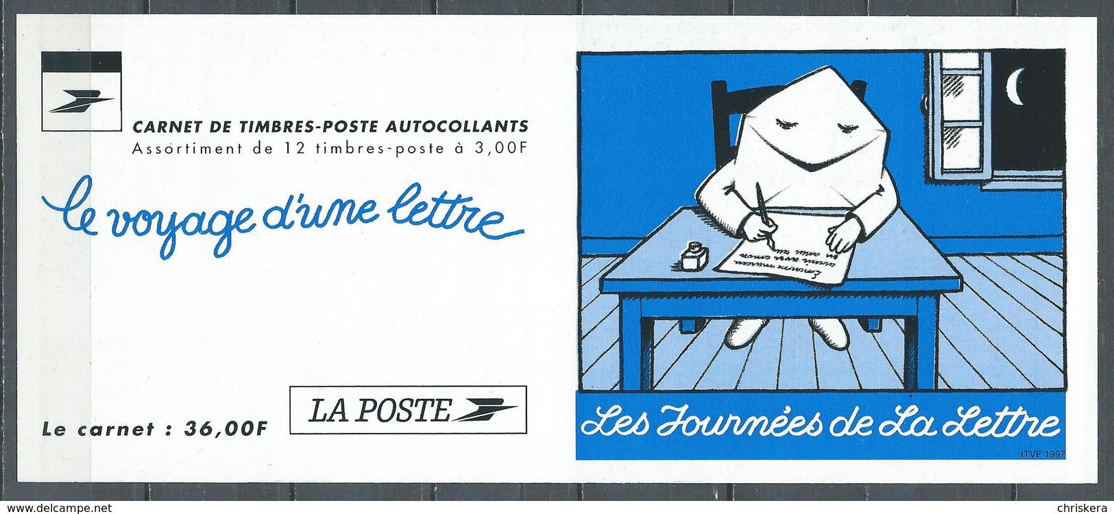 France Carnet YT N°BC3071A Les Journées De La Lettre Neuf ** - Commémoratifs