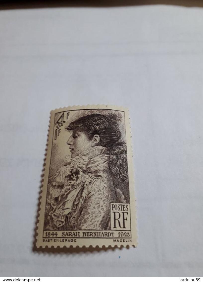 Timbres - France - 1945 - Sarah Bernhardt - N° 738 - France