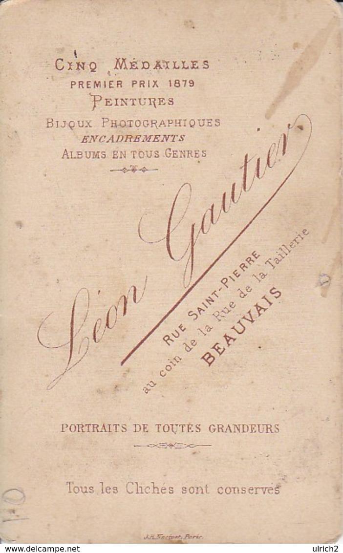 Foto Kirche - Atelier Gautier, Beauvais - Ca. 1900 - 10*6cm (33362) - Lieux