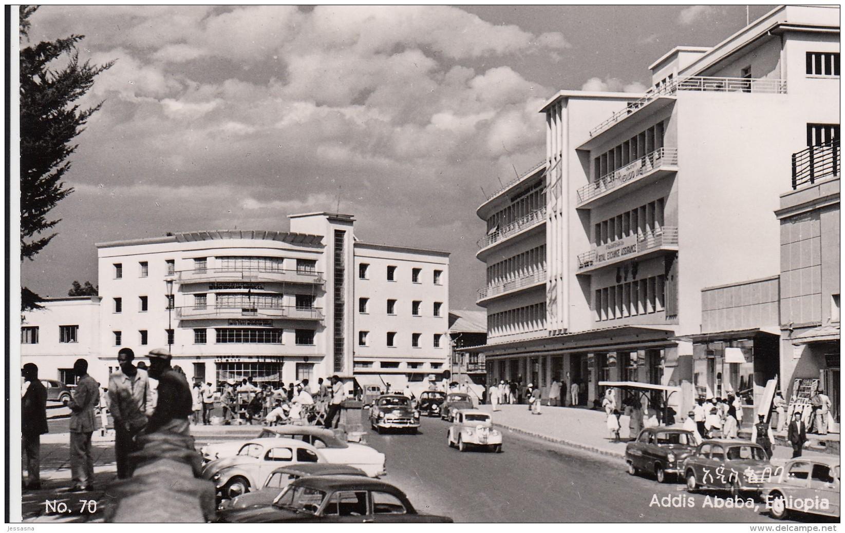 AK - ADDIS ABEBA (Äthiopien) - Strassenansicht 1960 - Äthiopien