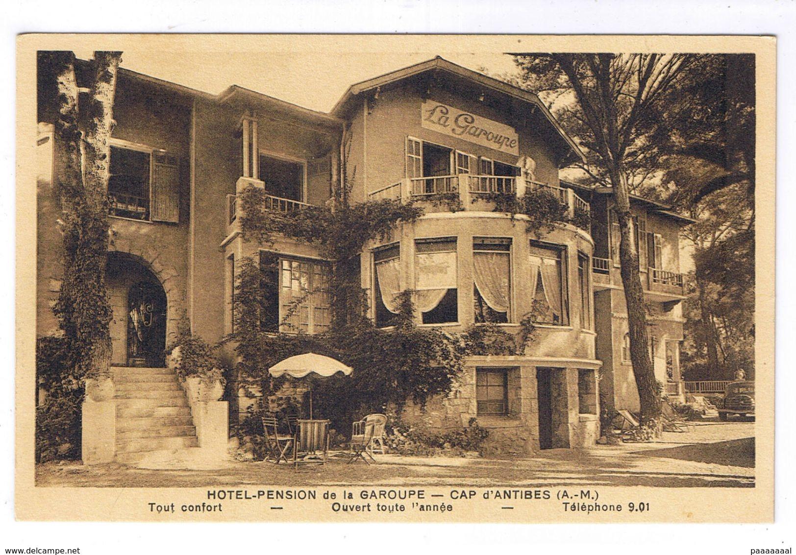 CAP D ANTIBES  HOTEL PENSION DE LA GAROUPE - Antibes
