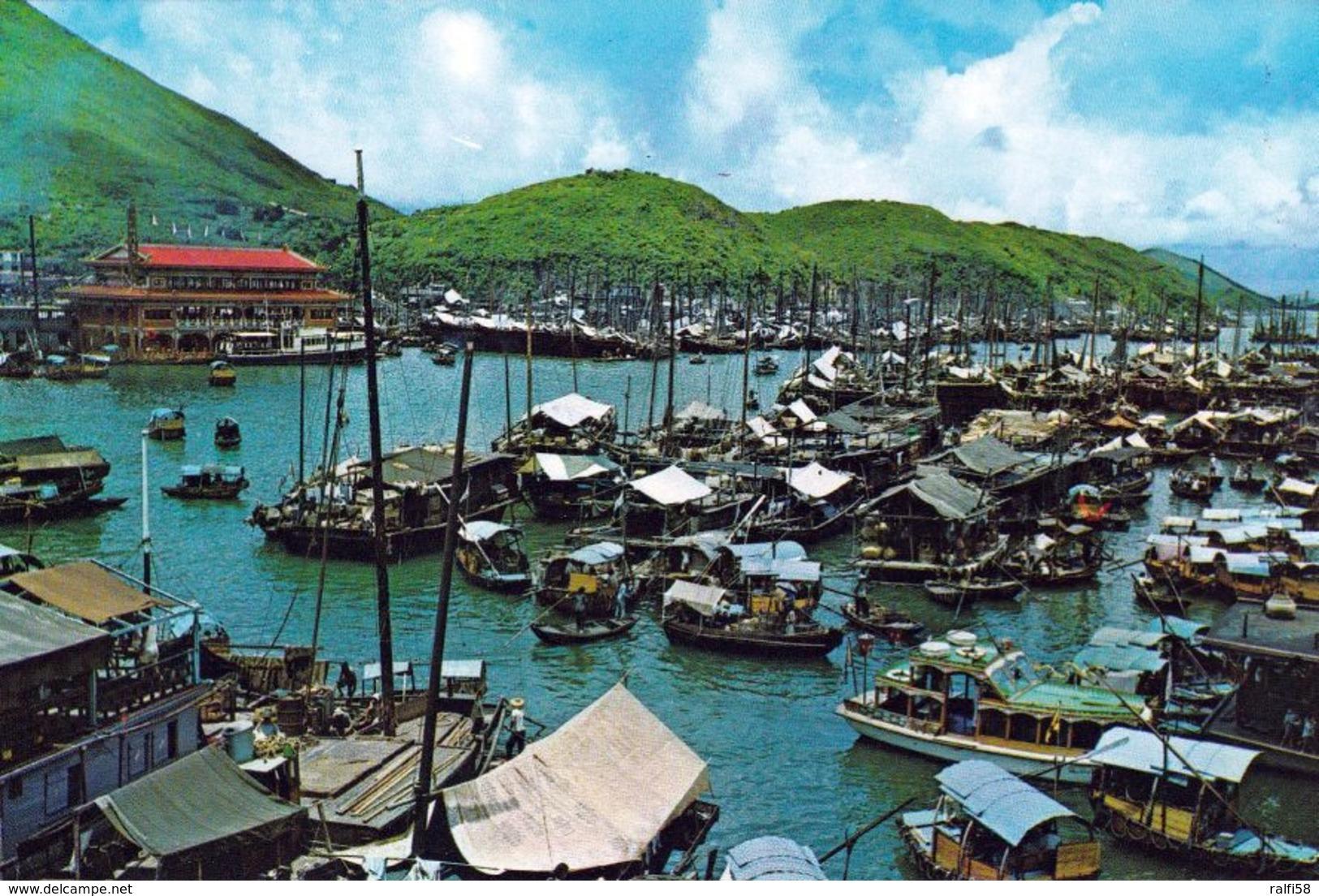 1 AK Hongkong * Aberdeen - The Famous Fishing Village Of Hong Kong * - China (Hongkong)
