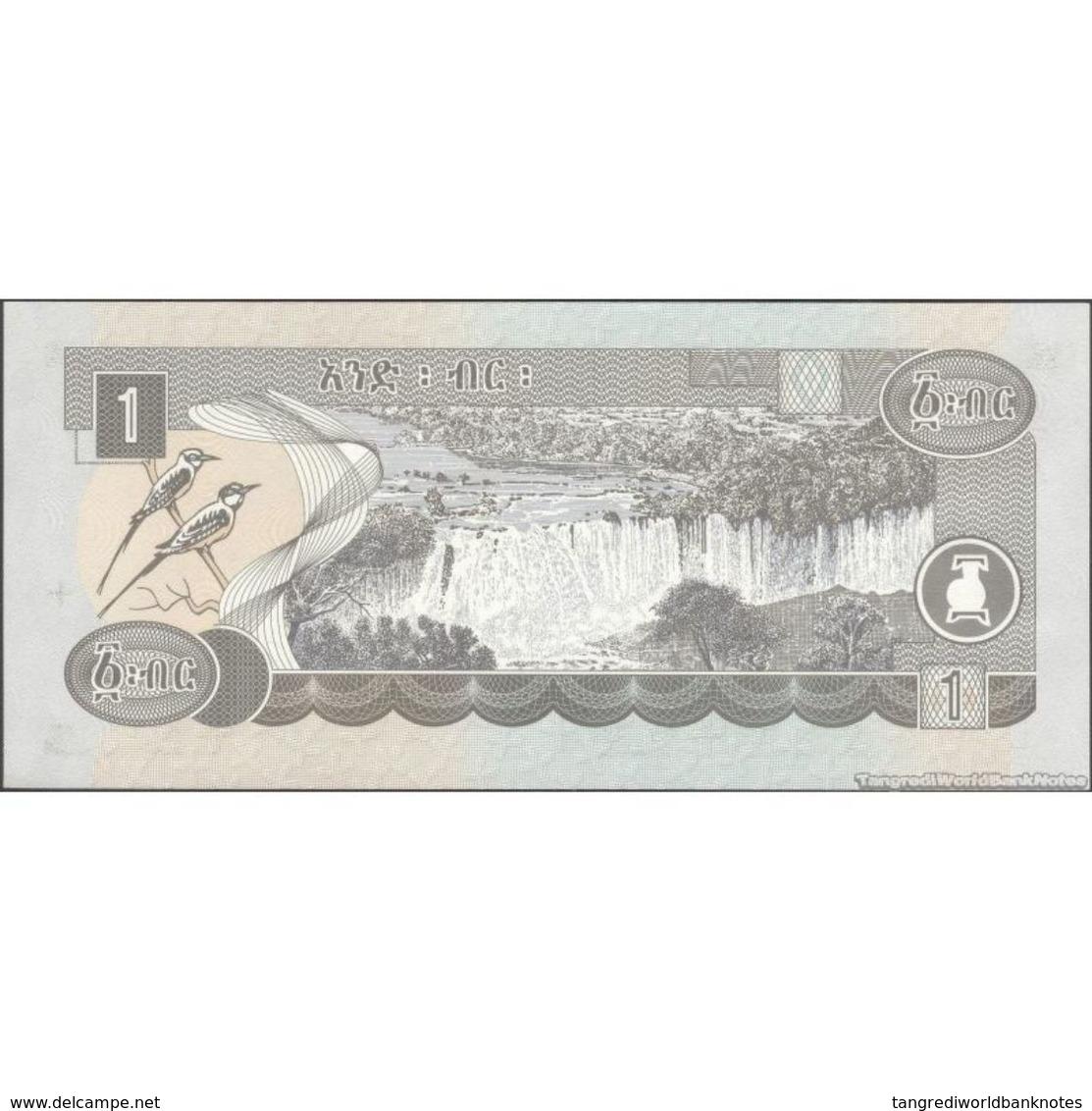 TWN - ETHIOPIA 46e - 1 Birr 2008 Replacement VV UNC - Ethiopie