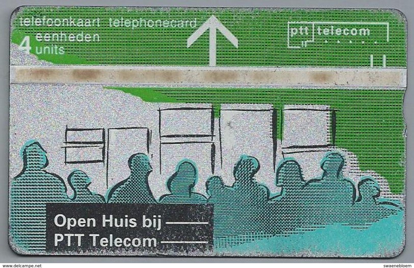 NL.- Telefoonkaart. PTT TELECOM. 4 Eenheden, Open Huis Bij PTT Telecom. Kaart Op Zak, Groot Gemak. - 112A - Telecom