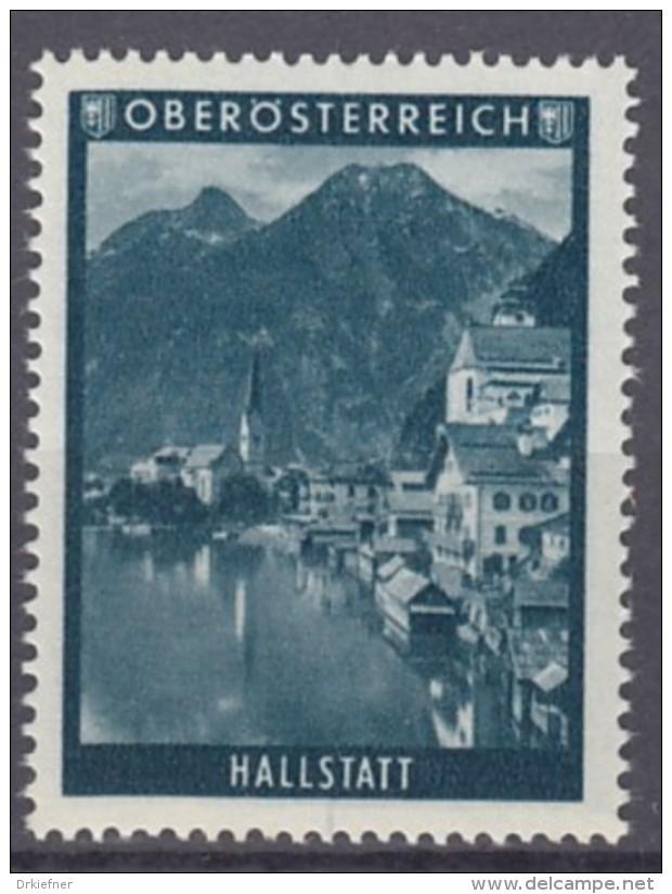 VIGNETTE, Reklamemarke: Österreich Oberösterreich: Hallstatt - Erinnophilie