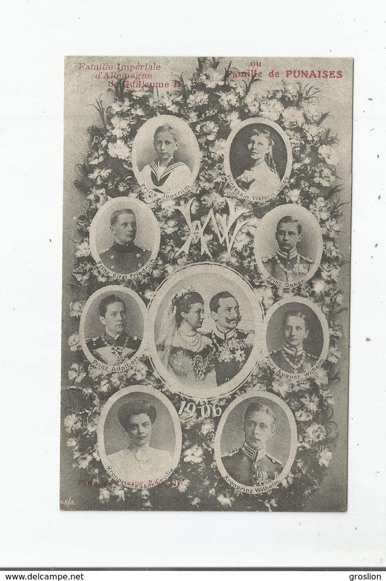 FAMILLE IMPERIALE D'ALLEMAGNE DE GUILLAUME II (1906) - Histoire