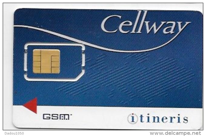 Carte GSM  ITINERIS - Frankreich