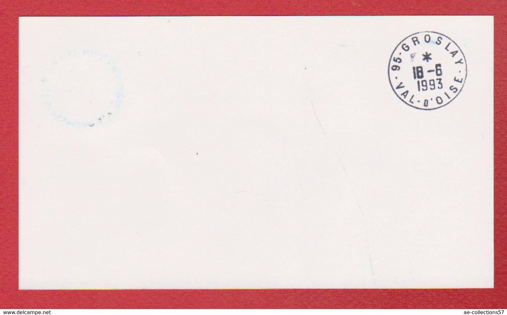 Carte De Auckland  -  Pour Groslay  --  18/6/1993 - Airmail