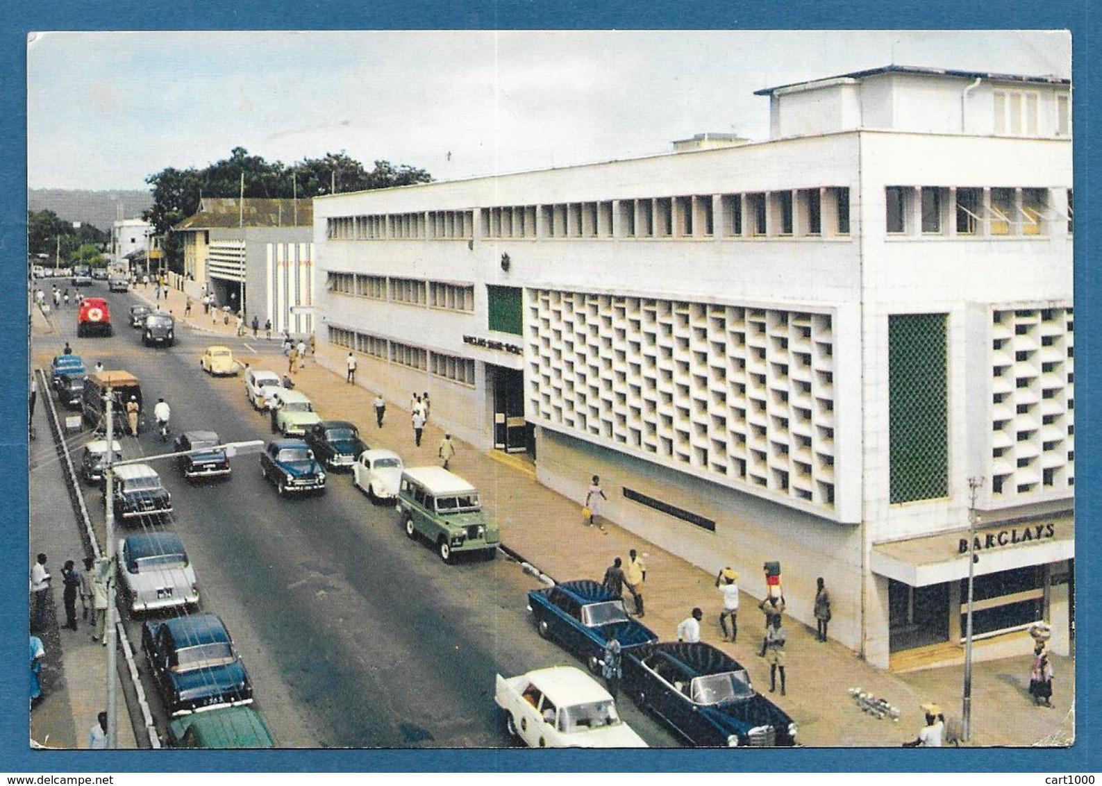 SIERRA LEONE VIEW OF BARCLAYS BANK FREETOWN 1969 - Sierra Leone