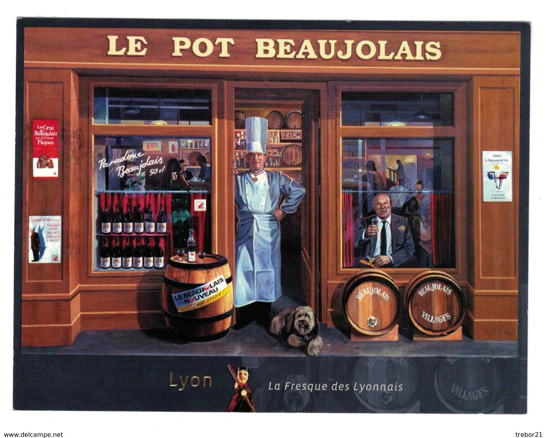 LYON - Publicité -Le Pot De Beaujolais - Lyon