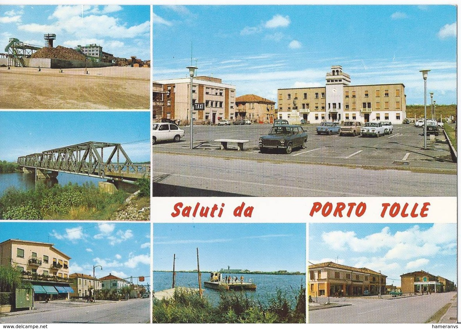 Saluti Da Porto Tolle - Rovigo - H3760 - Rovigo