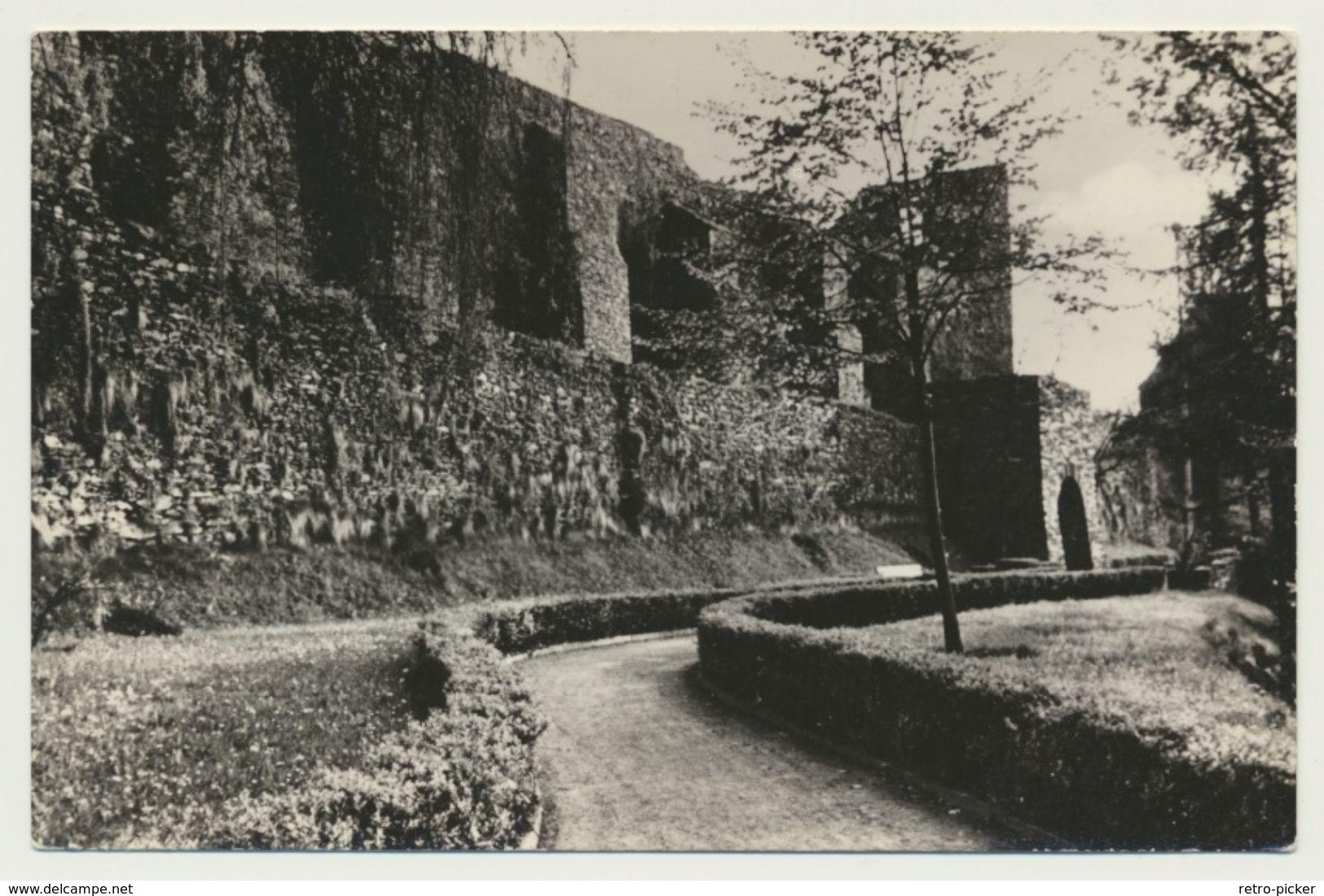 AK  Elsterberg Im Vogtland Ruine 1966 - Deutschland