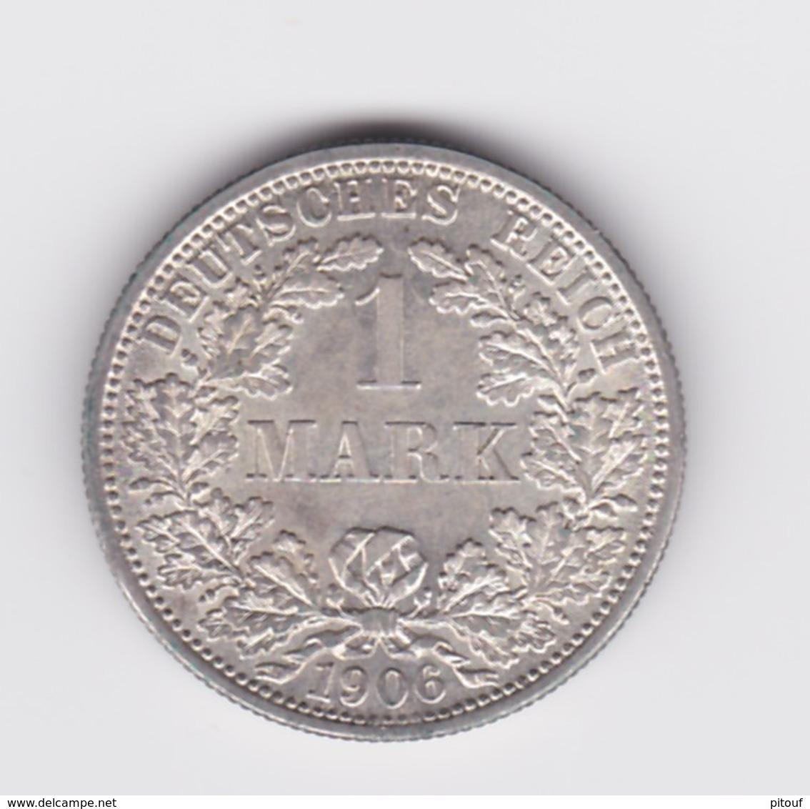 1 Mark 1906 F SUP/UNC - [ 2] 1871-1918: Deutsches Kaiserreich
