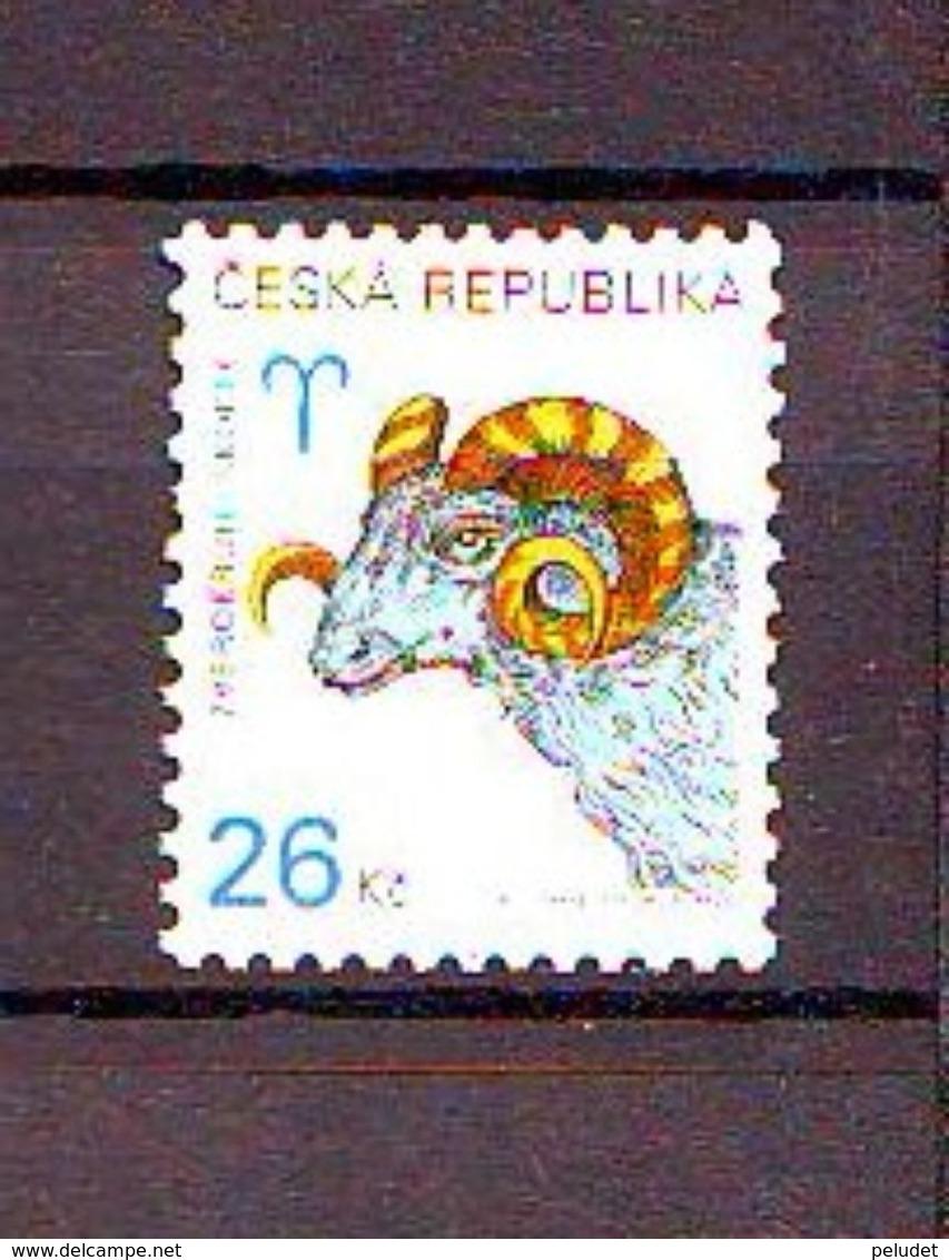 Czech Republic Zodiac - Aries. 1v: 26 Kc Mnh - Tschechische Republik