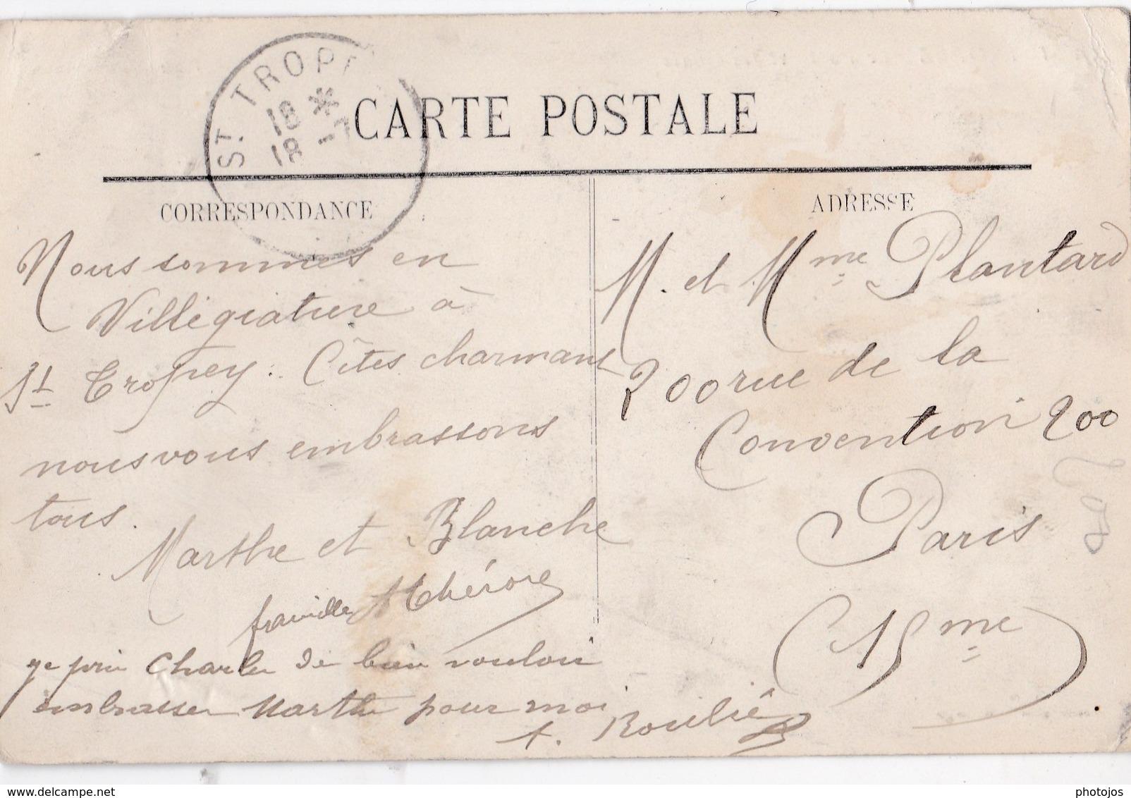 CPA : St Tropez (83)   Le Port Et Les Quais    Bateaux De Pêche   Ed Olive N° 17 - Saint-Tropez