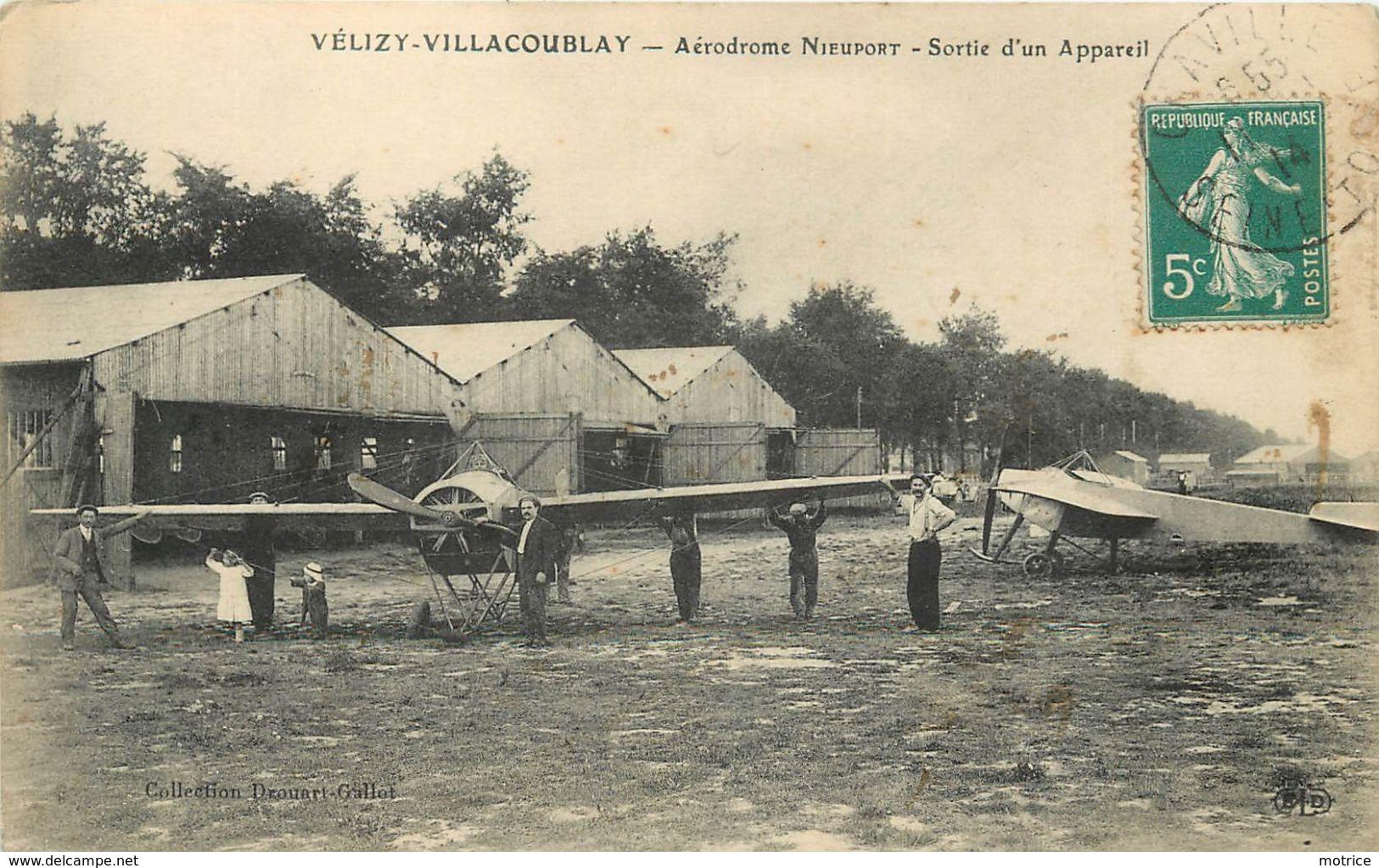 VELIZY VILLACOUBLAY - Aérodrome Nieuport, Sortie D'un Appareil.(ELD éditeur) - Aérodromes