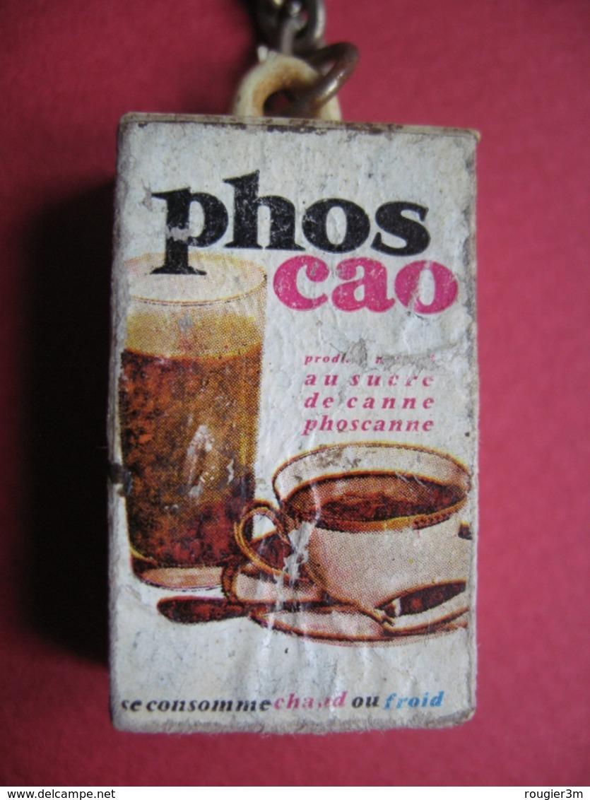 Porte-clefs - 357 - Boite Phoscao - Chocolat Poudre Soluble - Miniature - Porte-clefs