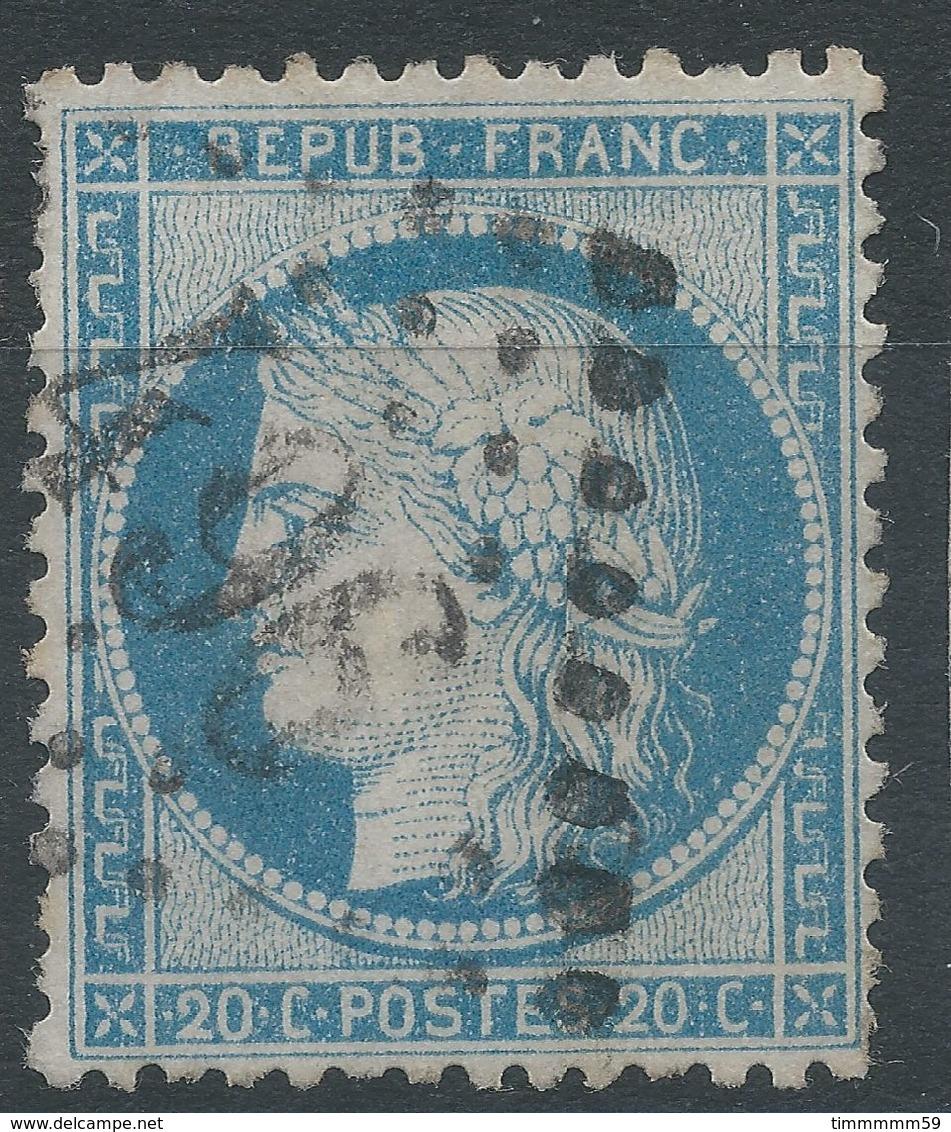 Lot N°41382   N°37, Oblit GC 496 Blaye, Gironde (32), Ind 3 - 1870 Siege Of Paris