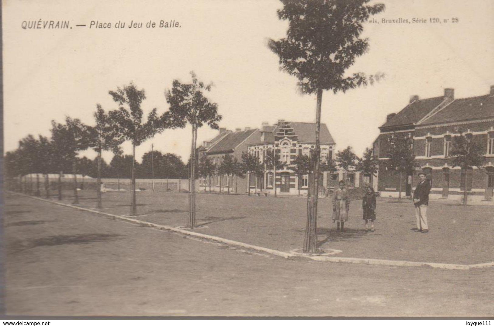 Quiévrain-  Place Du Jeu De Balle - Quiévrain