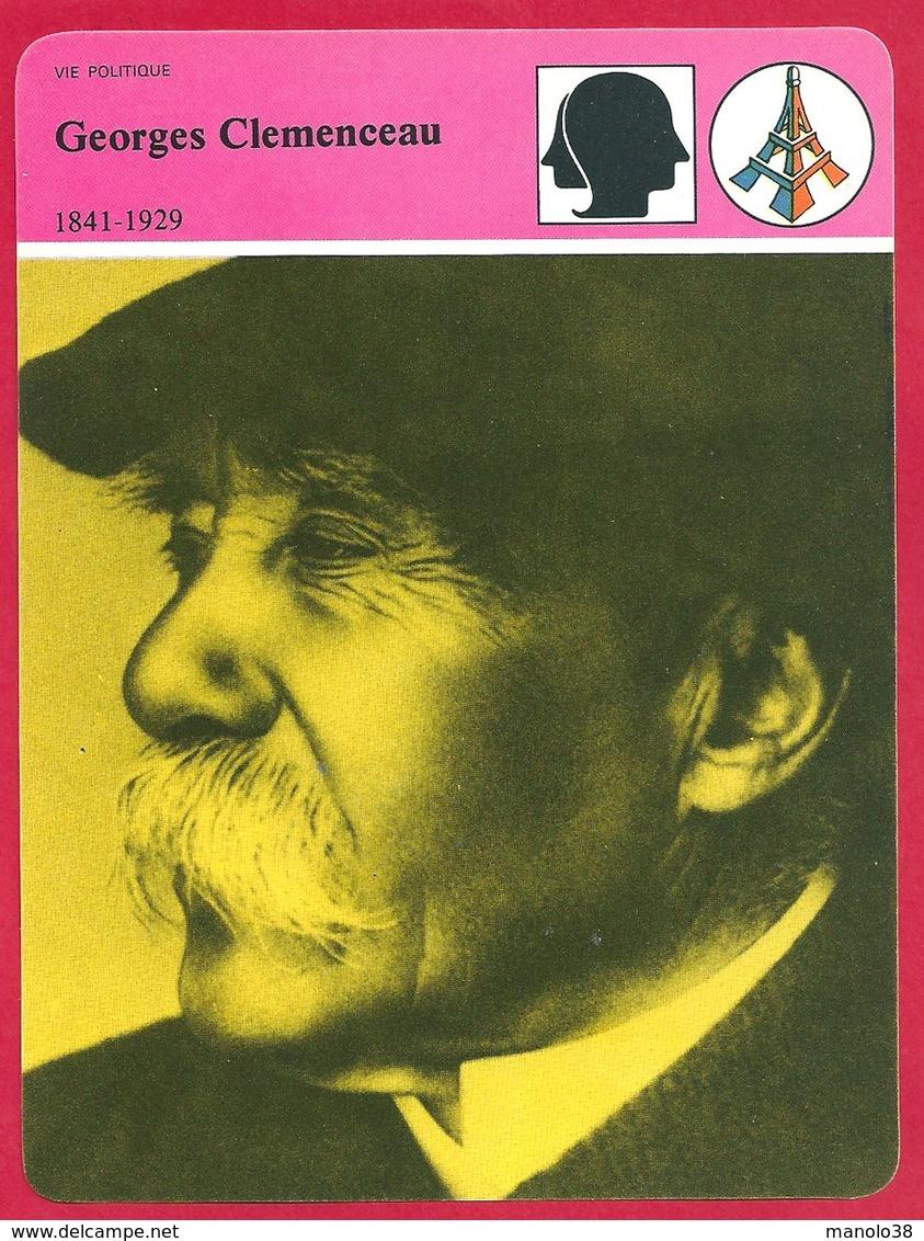 Georges Clemenceau, Homme Politique, Ministre De L' Intérieur, Le Tigre, Président Du Conseil - Histoire