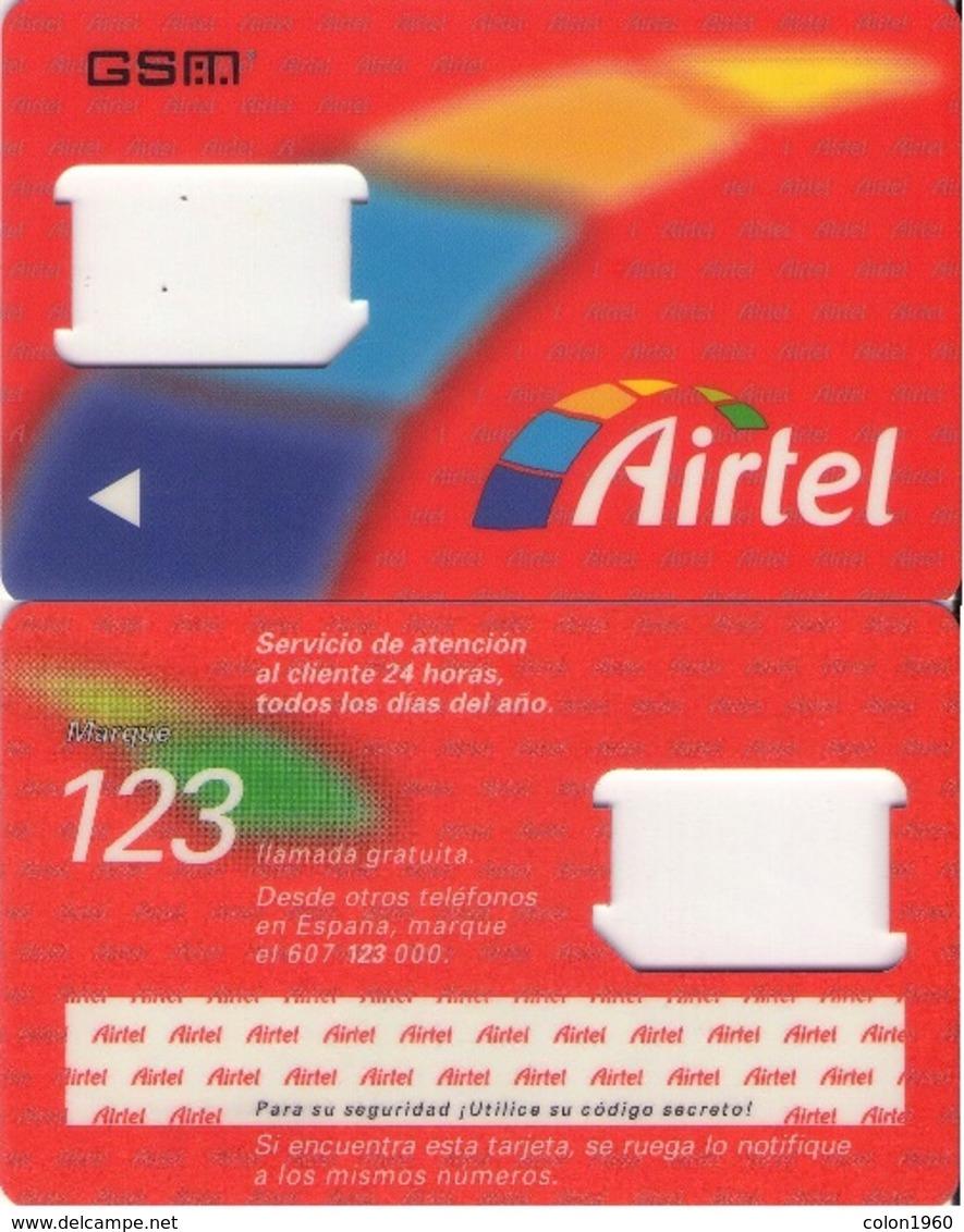TARJETA TELEFONICA DE ESPAÑA, (SIM) 230. - Airtel