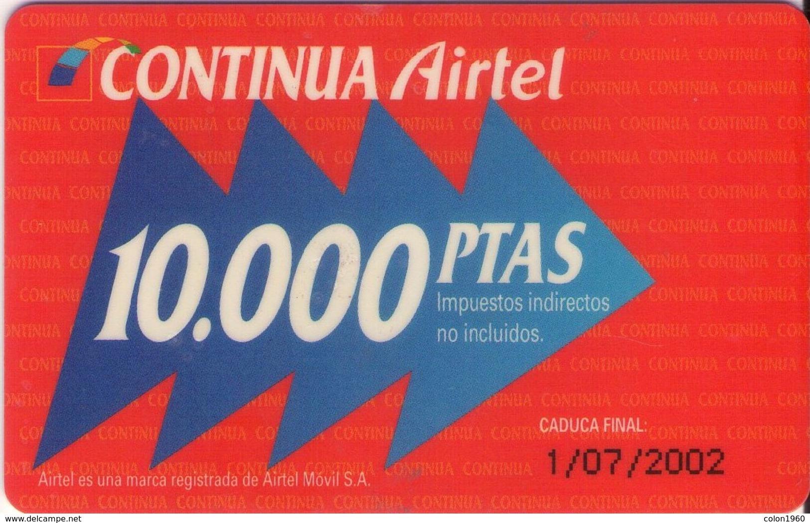 TARJETA TELEFONICA DE ESPAÑA, (PREPAGO) 224. - Spain