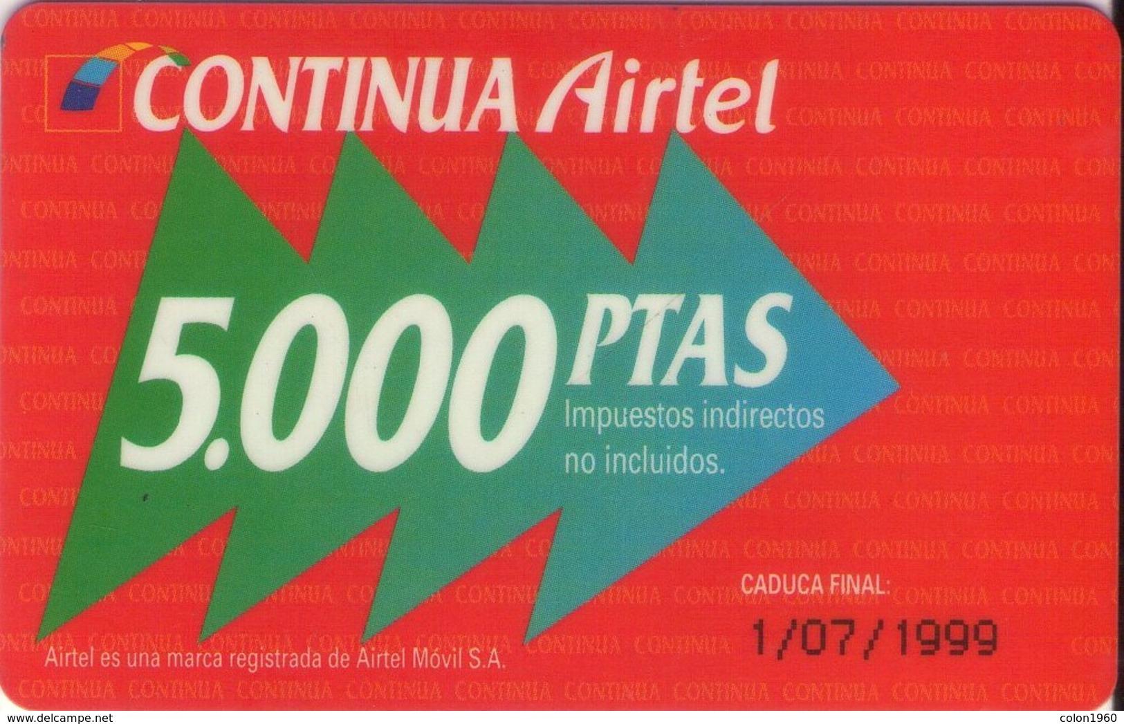 TARJETA TELEFONICA DE ESPAÑA, (PREPAGO) 223. - Spanien