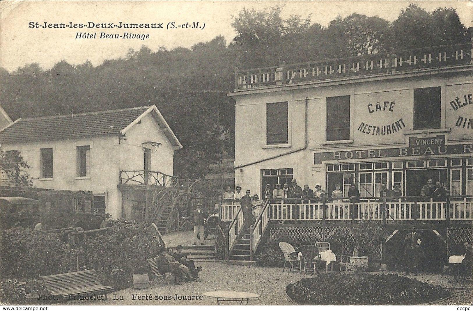 CPA St-Jean-les-Deux-Jumeaux Hôtel Beau-Rivage - Autres Communes