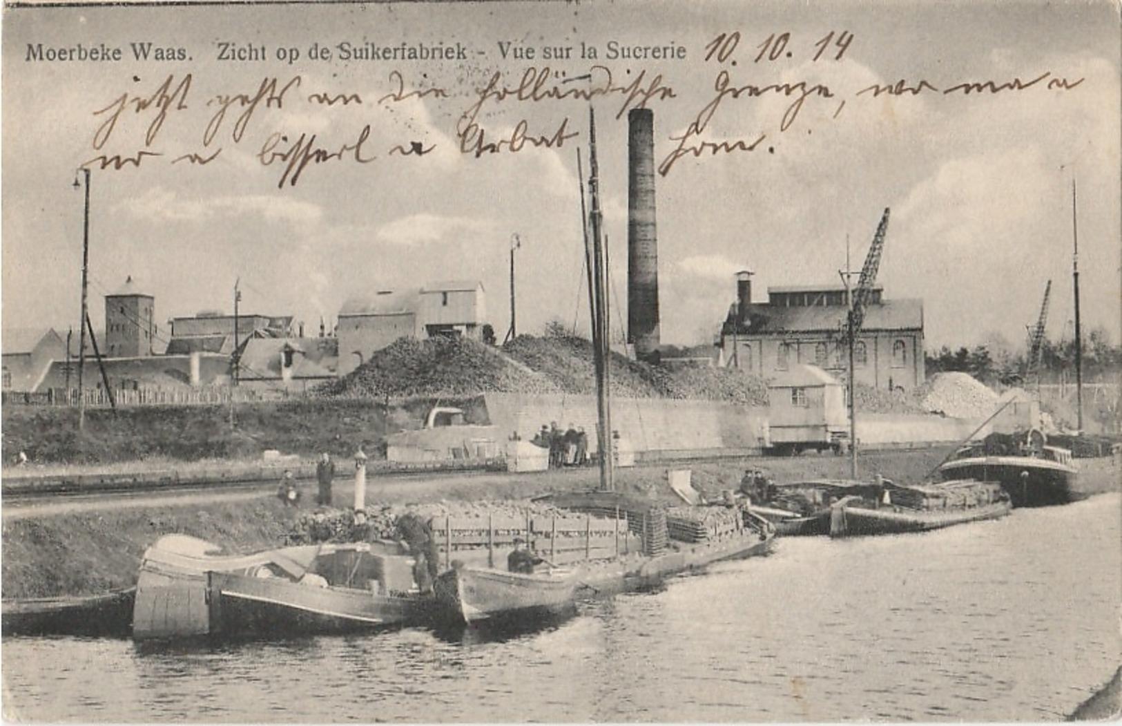 MOERBEKE WAAS Suikerfabriek - Moerbeke-Waas