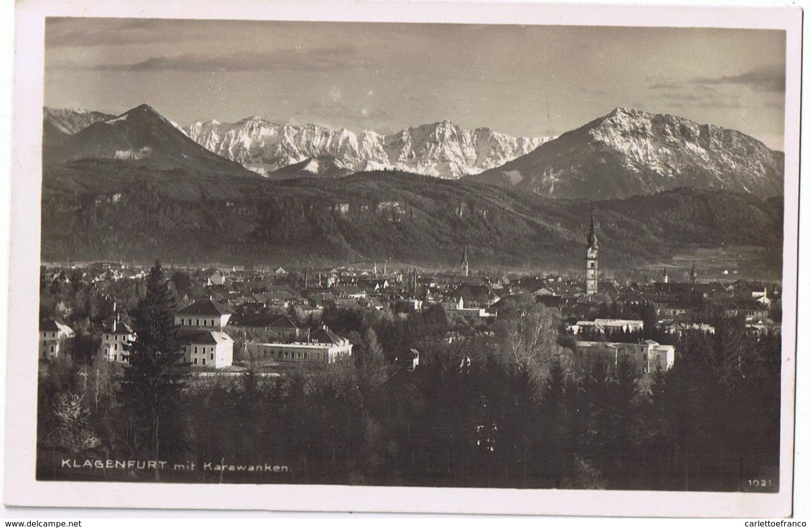 Klagenfurt 2 Pezzi Come Da Scansione- Viaggiate Con Bollo 1927/28 - Austria