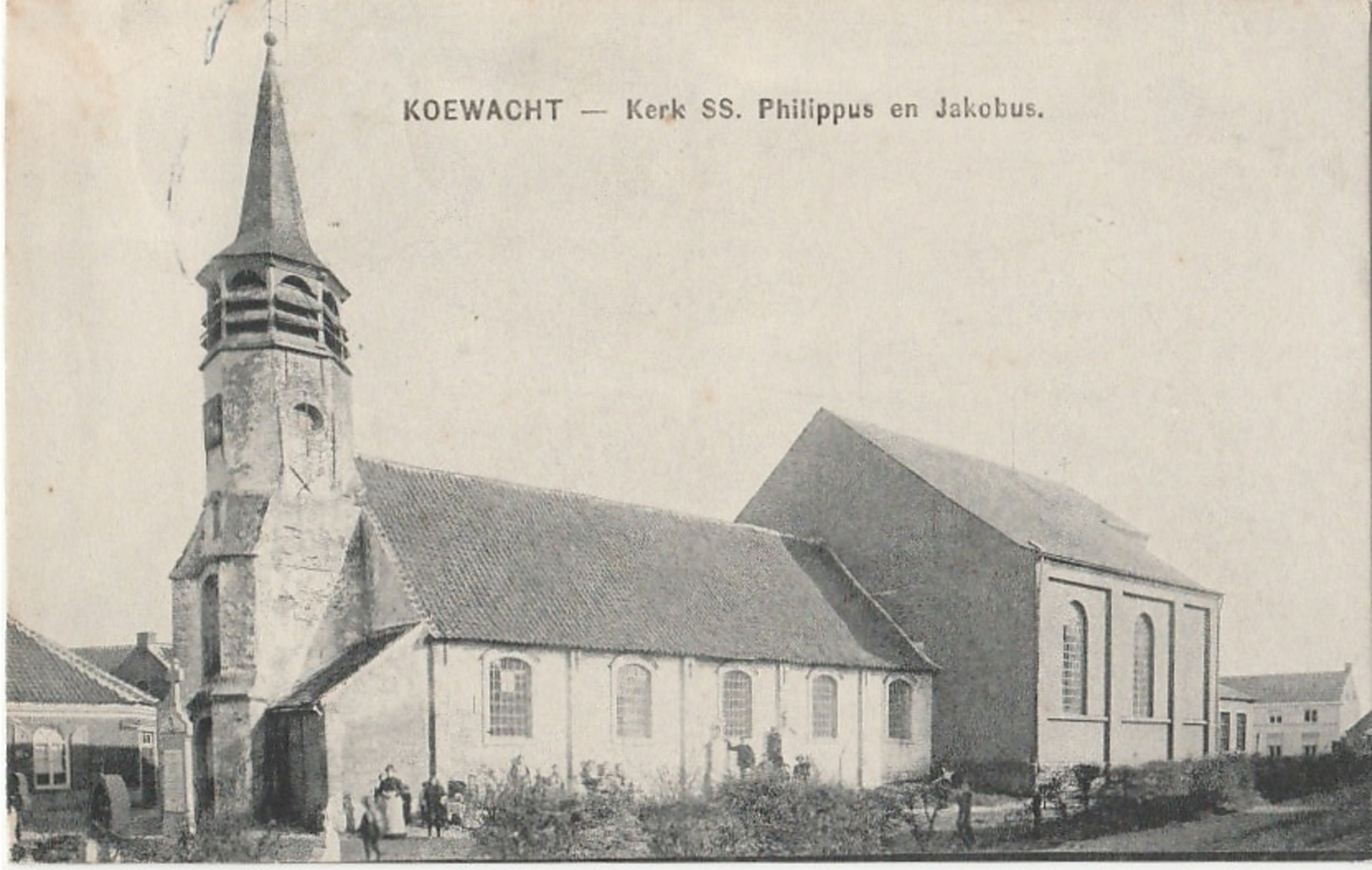 MOERBEKE WAAS  Koewacht Kerk - Moerbeke-Waas