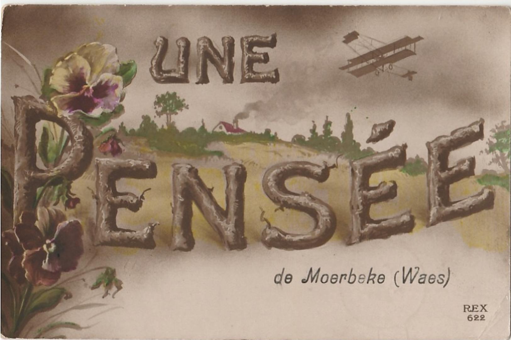 MOERBEKE WAAS  Une Pensée - Moerbeke-Waas