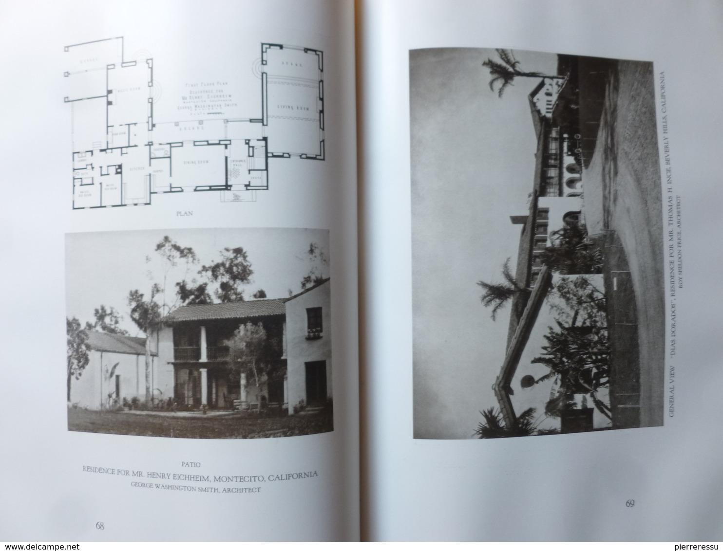 REXFORD NEWCOMB MEDITERRANEAN DOMESTIC ARCHITECTURE IN THE UNITED STATES 1928 - Architecture