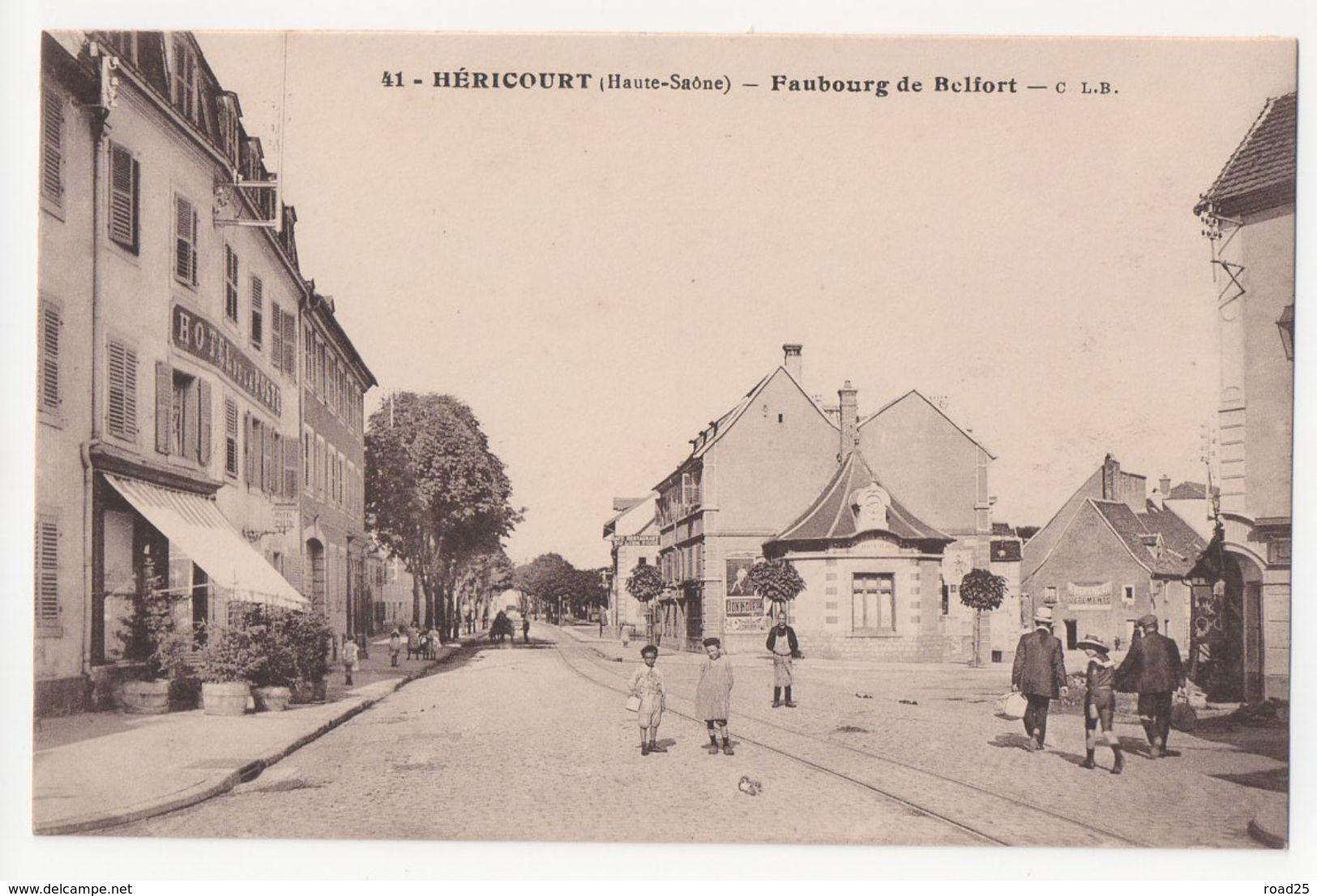( 70 ) Héricourt - Faubourg De Belfort - Otros Municipios