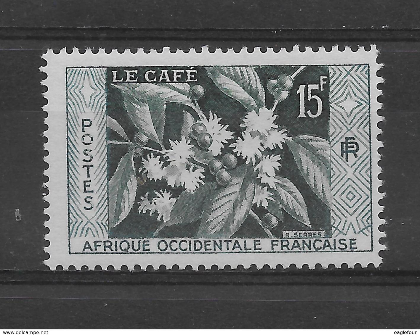 AOF N° 62 De 1956 ** TTBE - Cote Y&T 2015 De 1,15 € - A.O.F. (1934-1959)