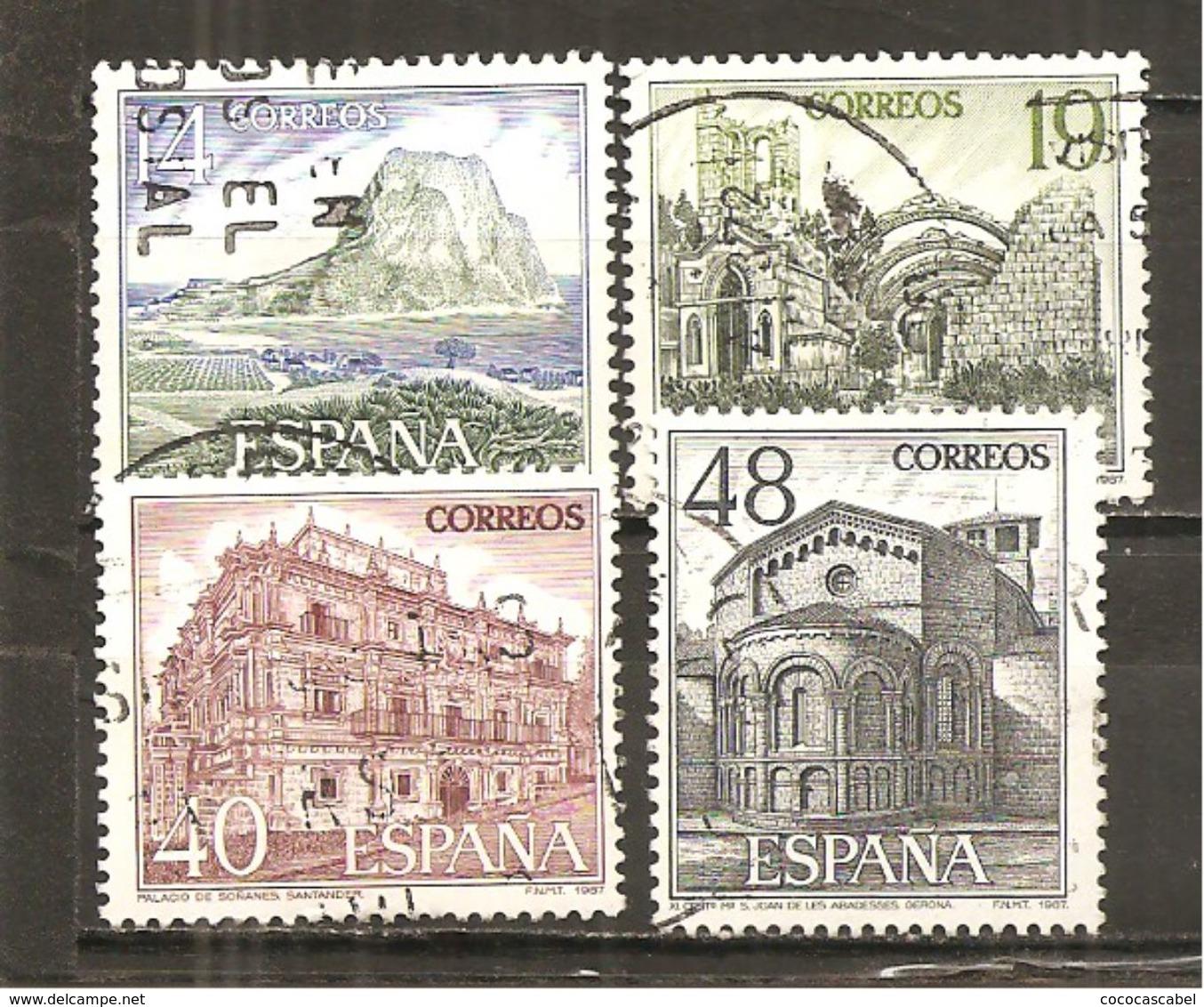 España/Spain-(usado) - Edifil  2900-03 - Yvert  2514-15, 2521/22 (o) - 1931-Hoy: 2ª República - ... Juan Carlos I
