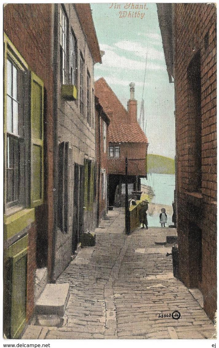 Tin Ghant Whitby - Postmark 1906 - Valentine's Series - Whitby