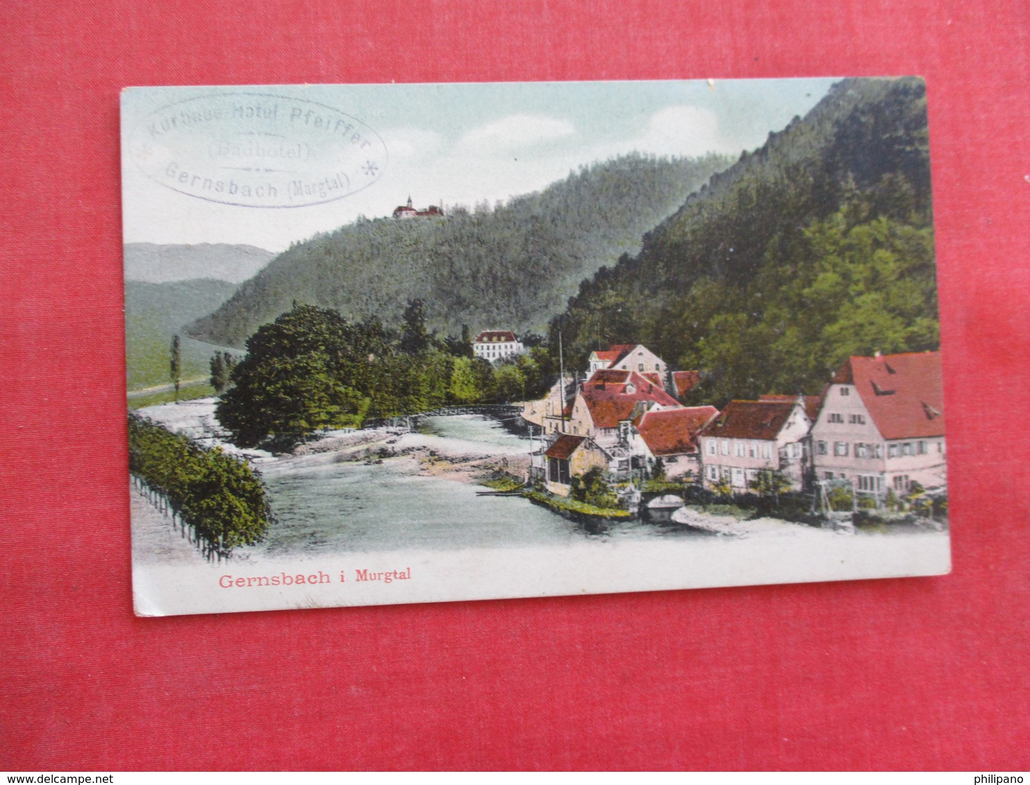 Germany > Baden-Wurttemberg > Gernsbach  I Murgtal  Ref 2867 - Gernsbach