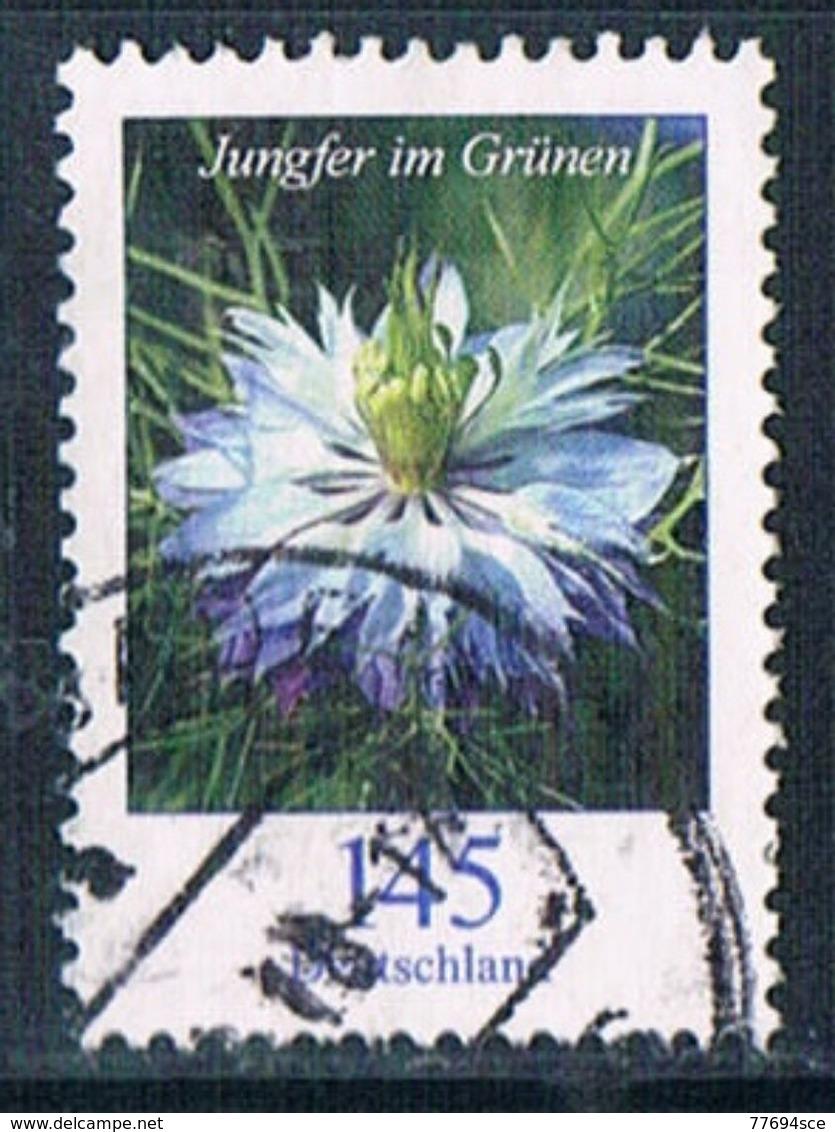2018 Dauerserie Blumen  (Jungfer Im Grünen) - Used Stamps