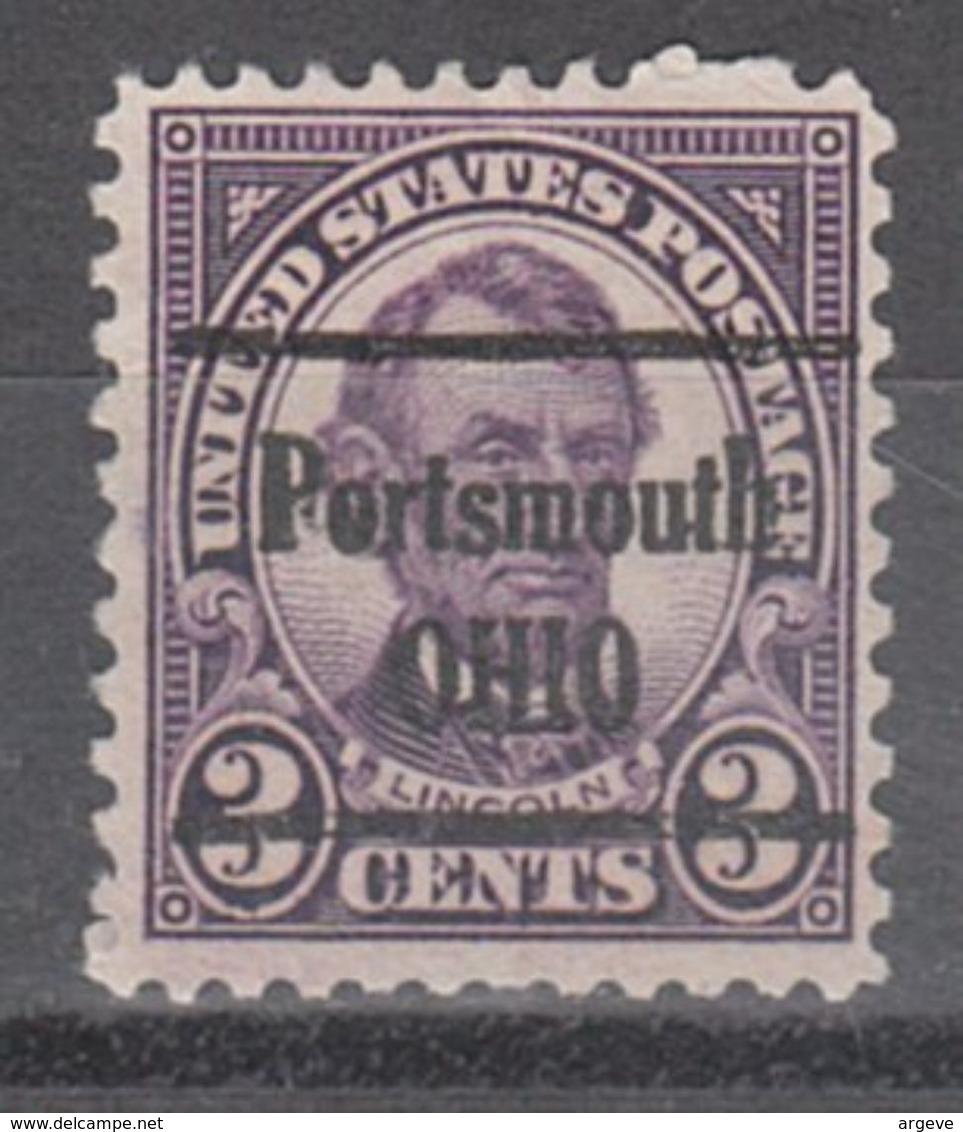 USA Precancel Vorausentwertung Preo, Locals Ohio, Portsmouth 635-228 - Vereinigte Staaten
