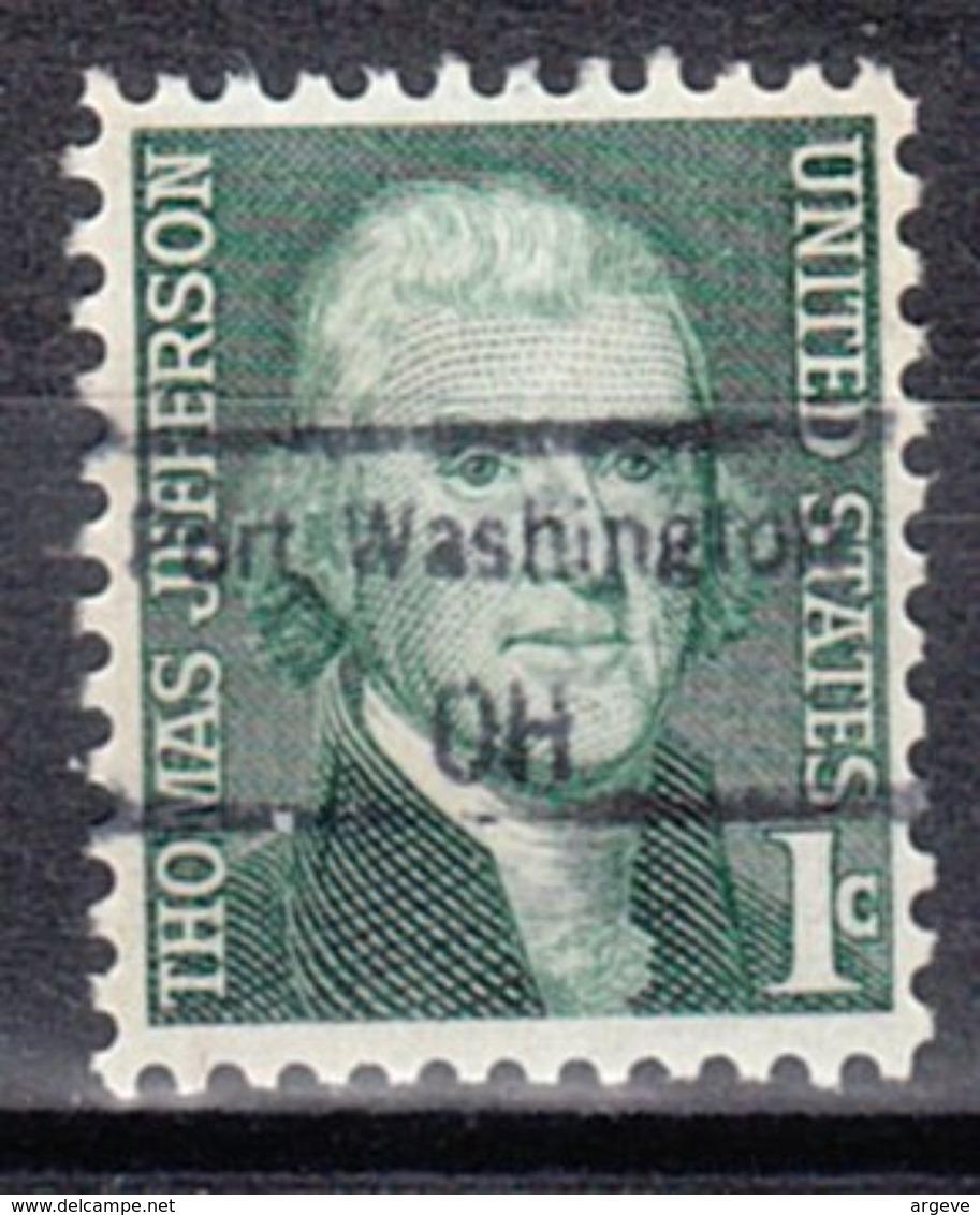 USA Precancel Vorausentwertung Preo, Locals Ohio, Port Washington 848,5 - Vereinigte Staaten