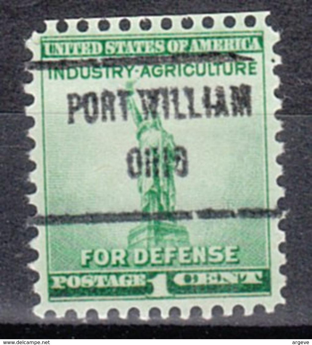 USA Precancel Vorausentwertung Preo, Locals Ohio, Port William 719 - Vereinigte Staaten