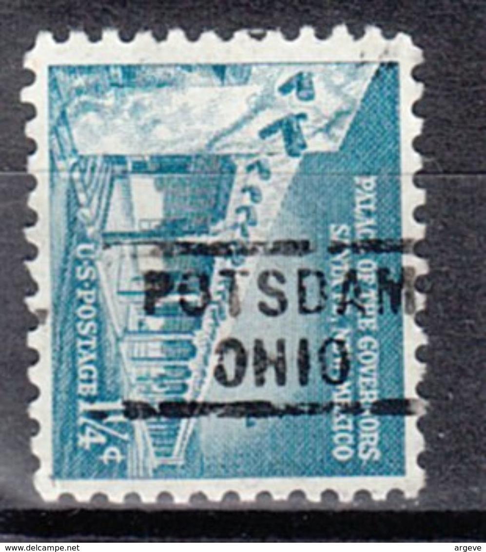 USA Precancel Vorausentwertung Preo, Locals Ohio, Potsdam 729 - Vereinigte Staaten