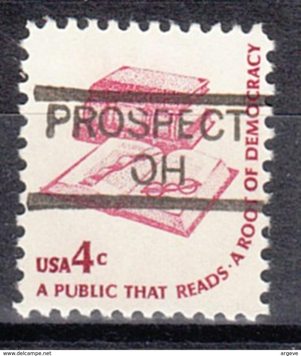 USA Precancel Vorausentwertung Preo, Locals Ohio, Prospect 835 - Vereinigte Staaten