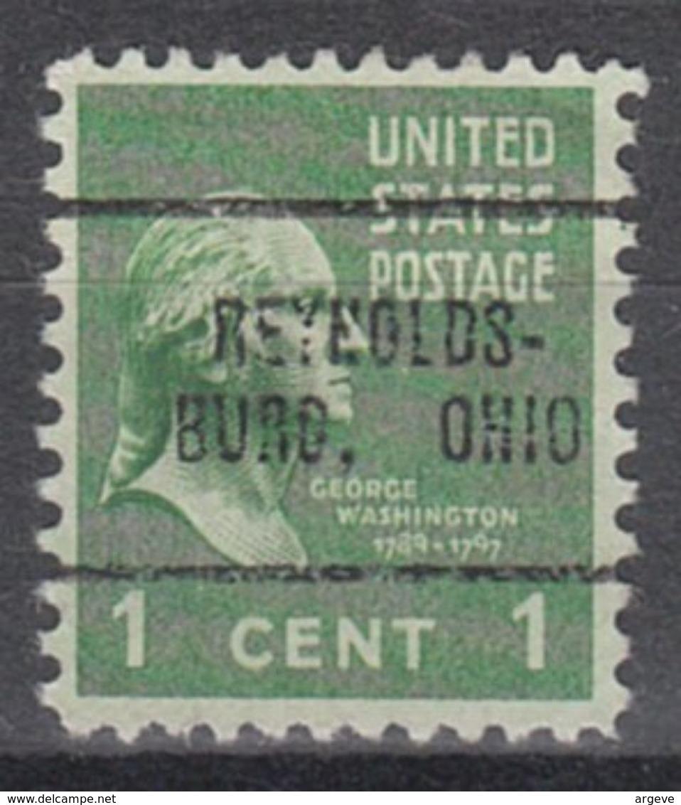 USA Precancel Vorausentwertung Preo, Locals Ohio, Reynoldsburg 705 - Vereinigte Staaten