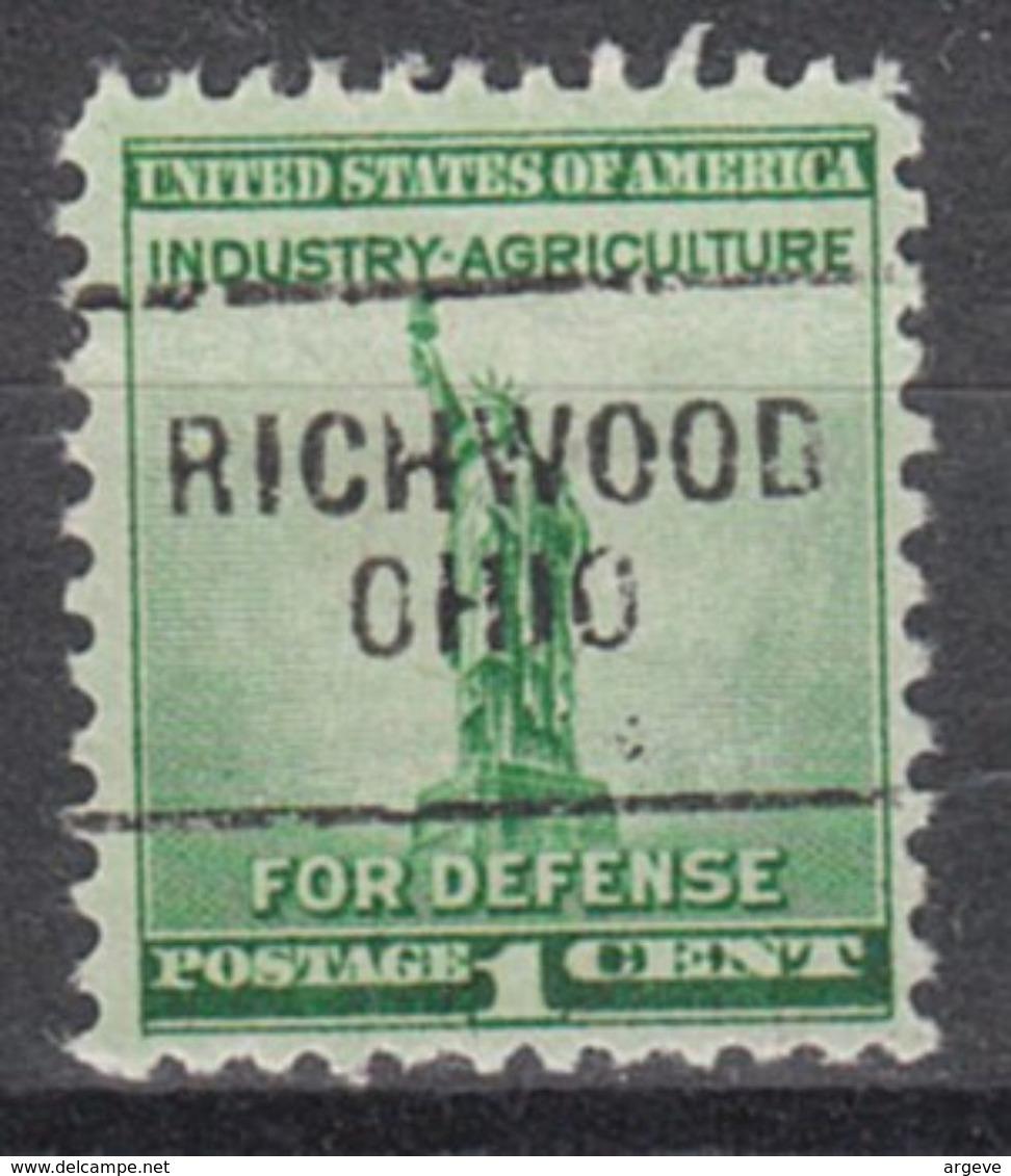 USA Precancel Vorausentwertung Preo, Locals Ohio, Richwood 703 - Vereinigte Staaten