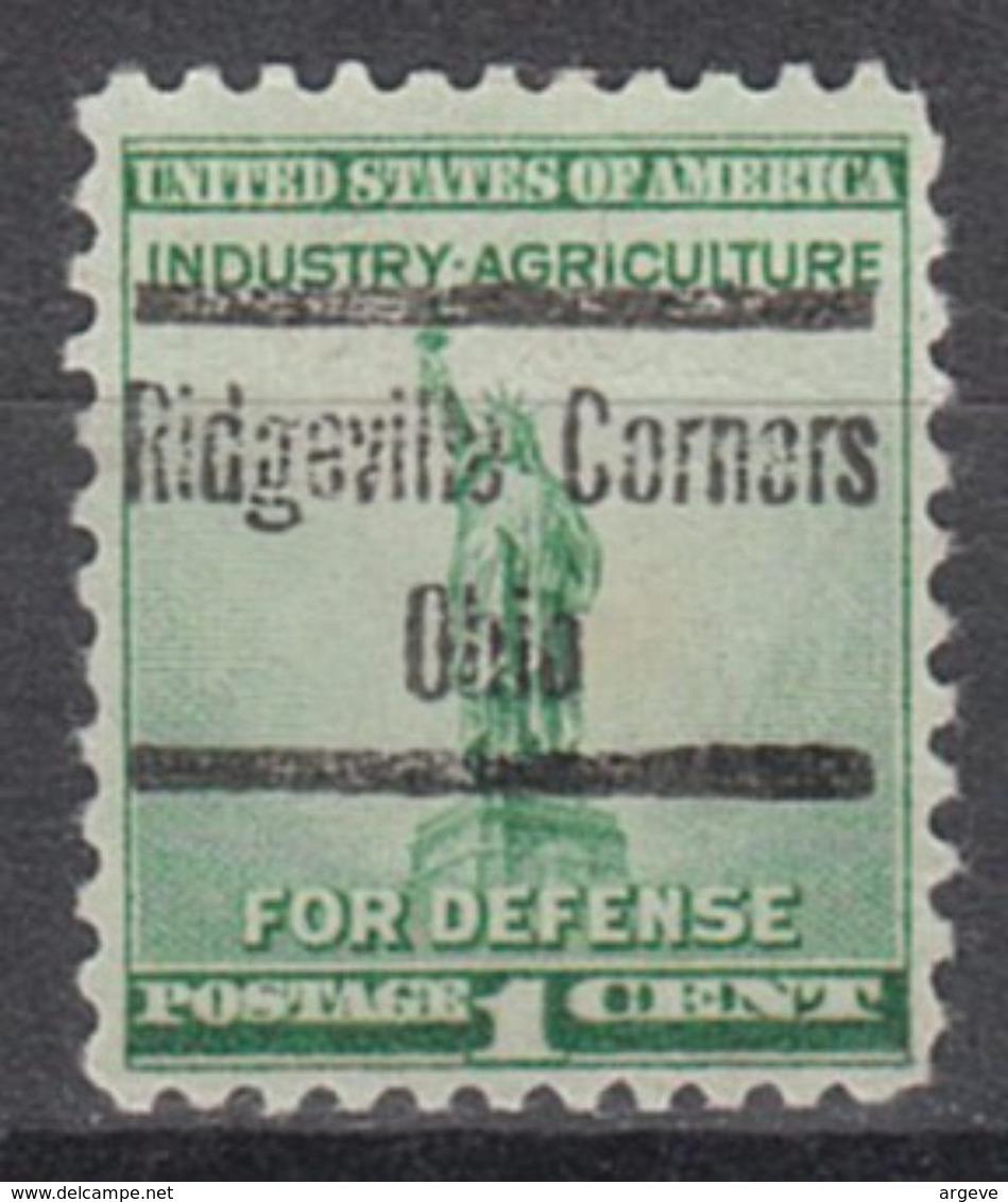 USA Precancel Vorausentwertung Preo, Locals Ohio, Ridgeville Corners 541 - Vereinigte Staaten