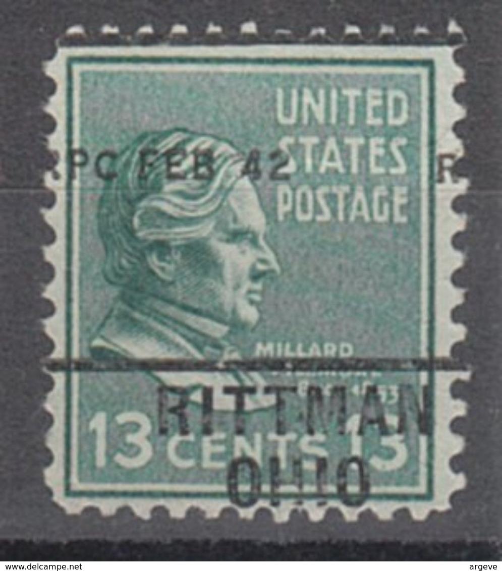 USA Precancel Vorausentwertung Preo, Locals Ohio, Rittman 261 - Vereinigte Staaten