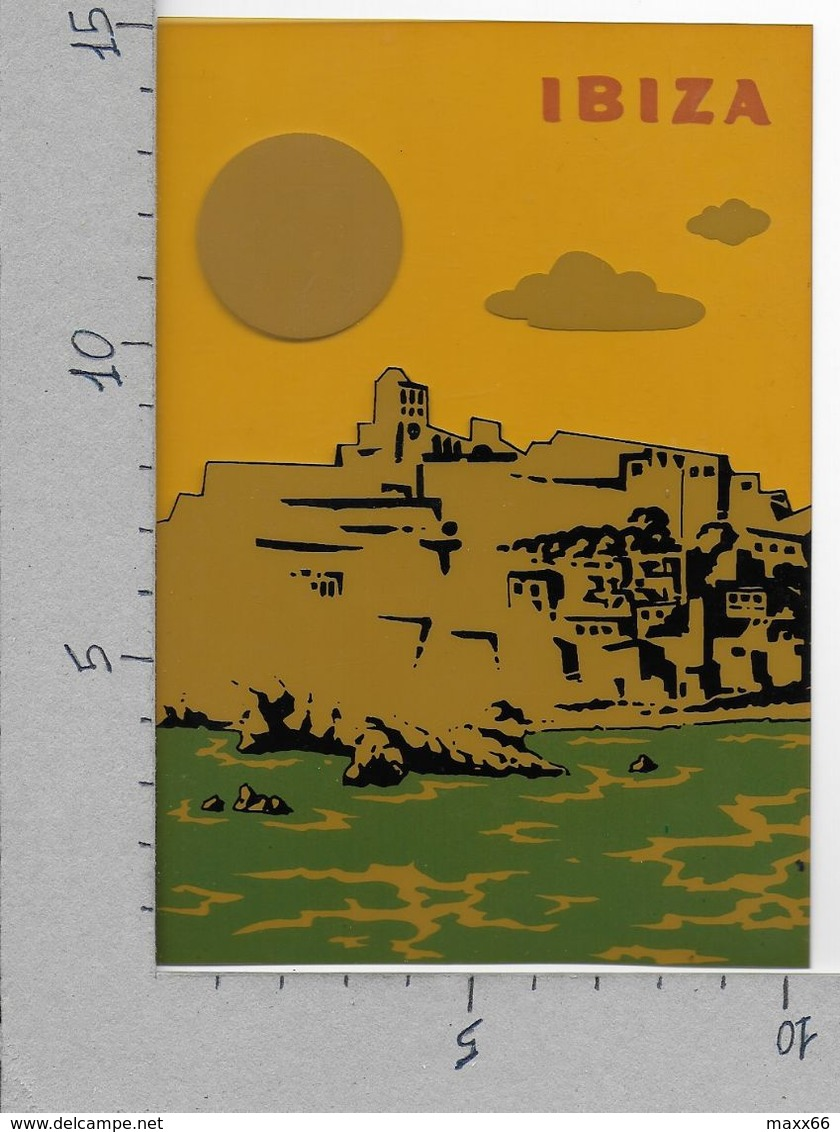CARTOLINA NV ITALIA - *IBIZA* Ed. Sibisa - 10 X 15 - Materiale Plastico - Cartoline