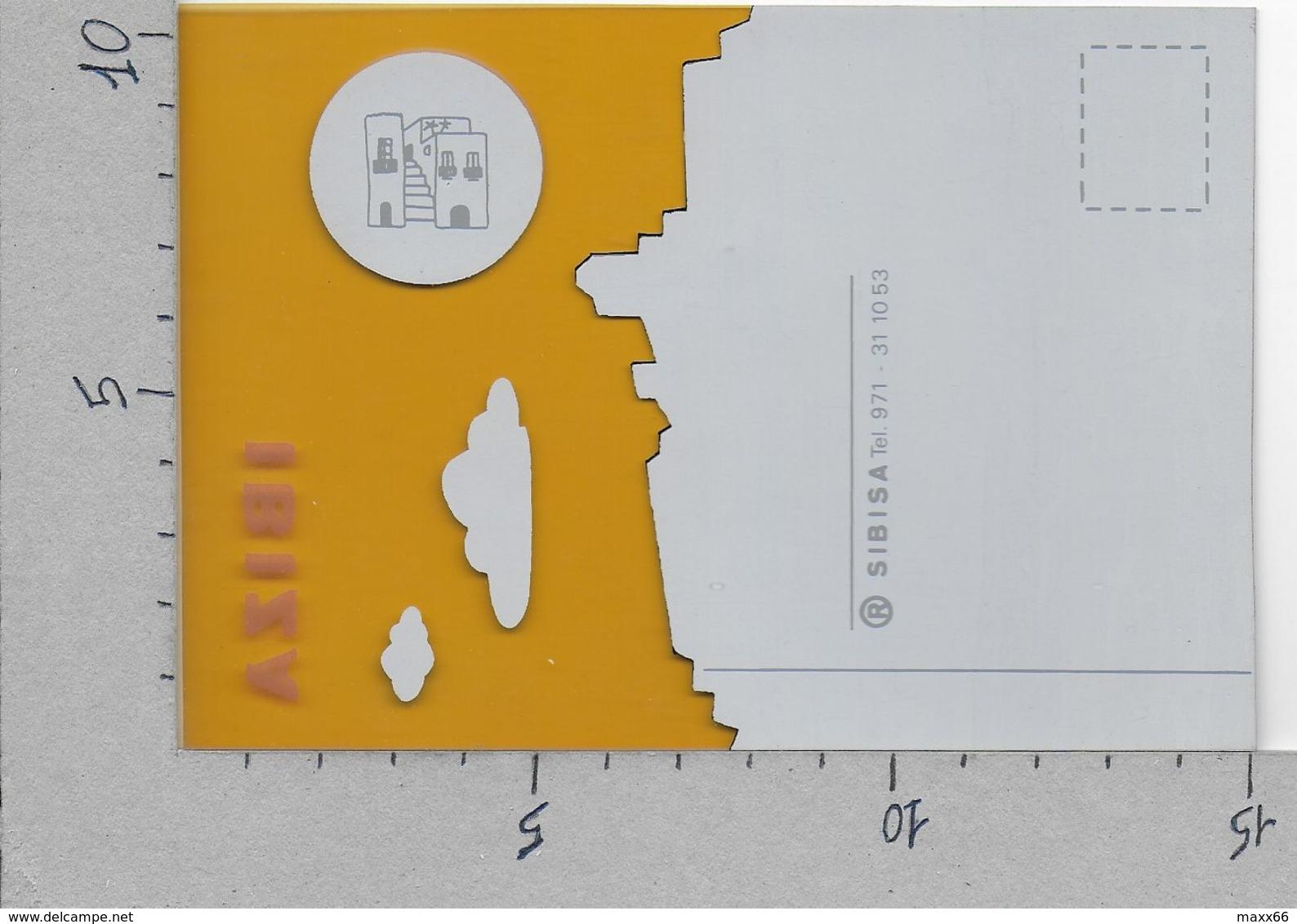 CARTOLINA NV ITALIA - *IBIZA* Ed. Sibisa - 10 X 15 - Materiale Plastico - Altri